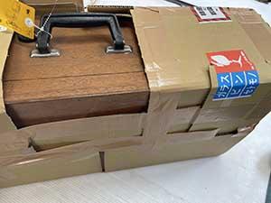 木箱やハードーケースがある場合の梱包参考