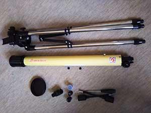望遠鏡 黄ばみ