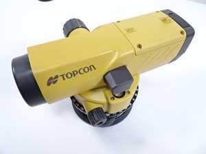 TOPCON トプコン オートレベル 日焼け色褪せ