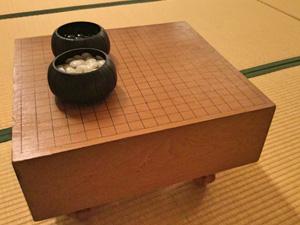 碁盤 日向蛤碁石雪35号 買取