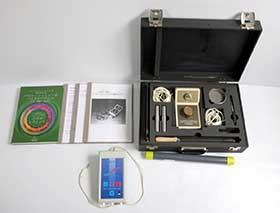 RAYONEX 波動調整レヨメーターデジタル 波動測定ポラライザー セット 中古